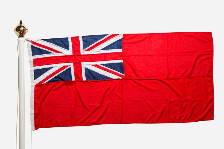 Red Ensign - Civil Ensign of the United Kingdom - Nautical Flags